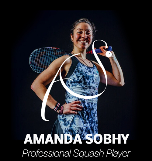 Amanda Sobhy Mobile Website Design