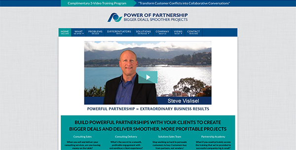 The Power of Partnership Website Design